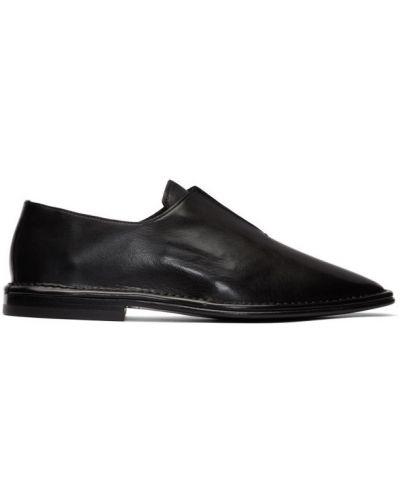 Czarny loafers z prawdziwej skóry Pierre Hardy