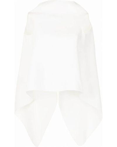 Biała bluzka bez rękawów Maticevski