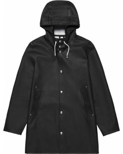 Czarny płaszcz Stutterheim