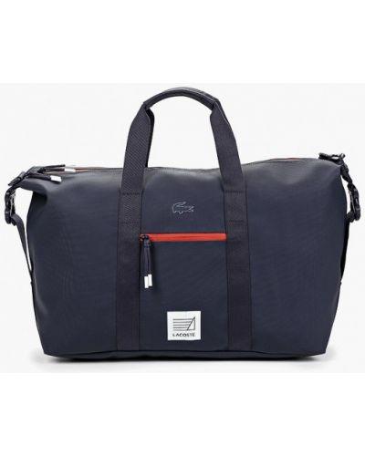 Дорожная сумка синий Lacoste