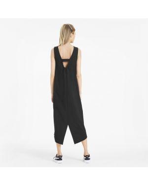 Платье спортивное черное Puma