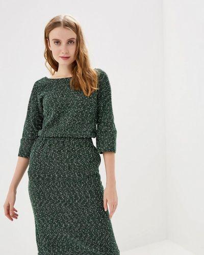 Платье - зеленое Clabin
