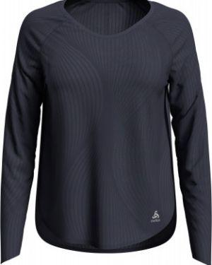 Свободная серая спортивная футболка для йоги свободного кроя Odlo
