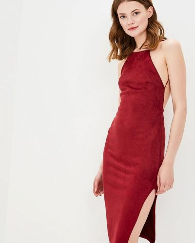Платье весеннее красный Edge Street