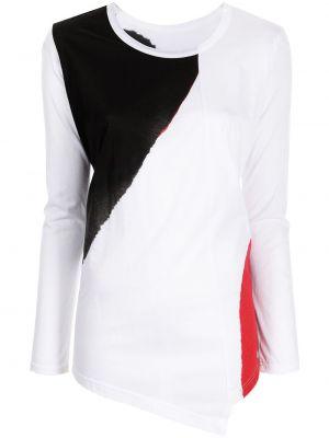 Biała koszulka bawełniana Ys