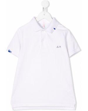 Белая классическая рубашка Sun 68