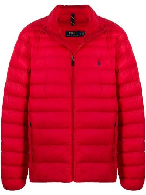 Длинная куртка - красная Polo Ralph Lauren