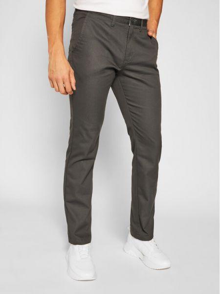 Szare spodnie materiałowe Vans