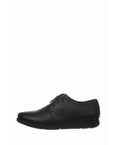 Кожаные туфли - черные Faber