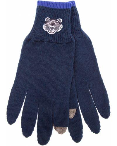 Перчатки с манжетами шерстяные Kenzo