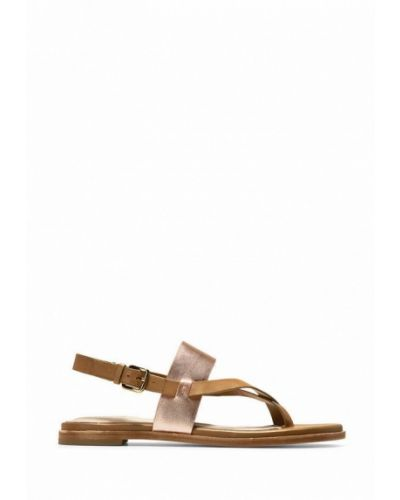 Кожаные сандалии - бежевые Cole Haan