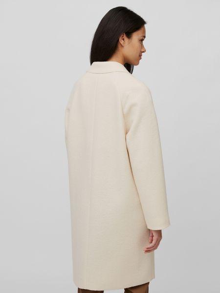 Шерстяное пальто с воротником на пуговицах Marc O'polo