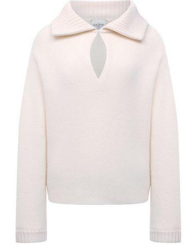 Кашемировый свитер - белый Le Kasha