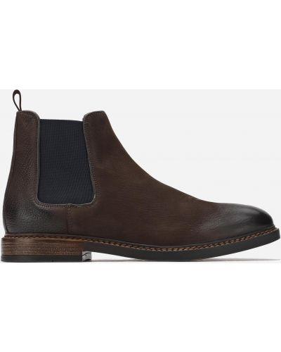 Ботинки челси - коричневые Gino Rossi