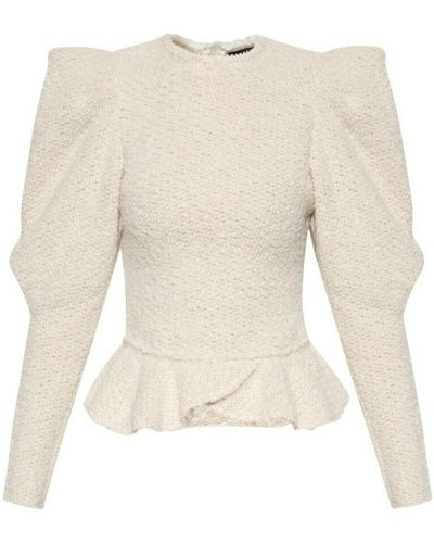 Sweter - beżowy Isabel Marant