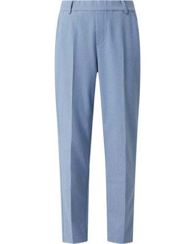 Spodnie z wiskozy - niebieskie Mos Mosh