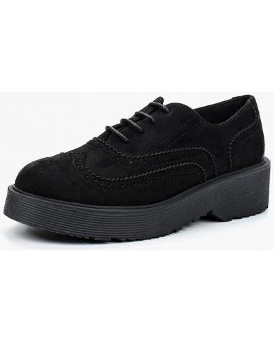Ботинки на каблуке замшевые Corina