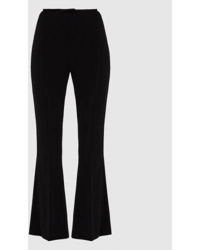 Повседневные черные брюки Miu Miu