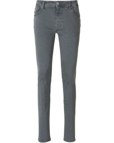 Szare mom jeans Tramarossa