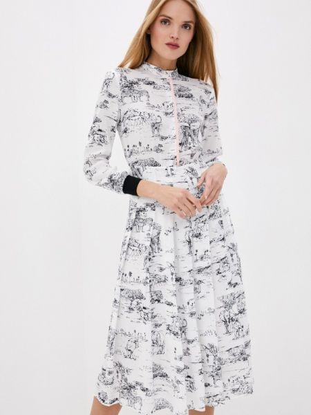 Платье - белое Markus Lupfer