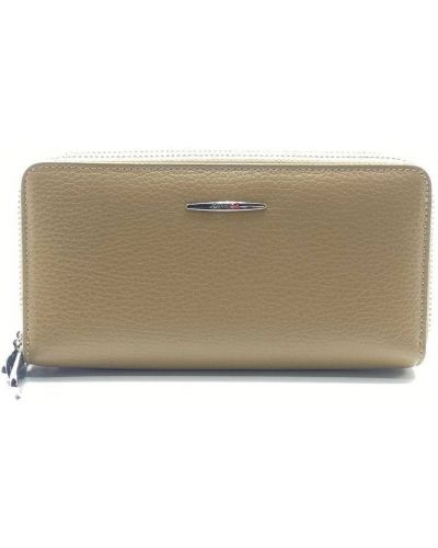 Кожаный портмоне - бежевый Eminsa