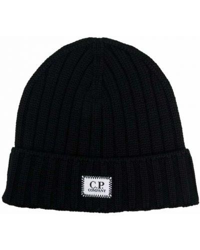 Czarna czapka C.p. Company