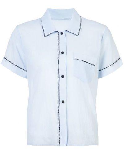 Синий топ пижамный Morgan Lane