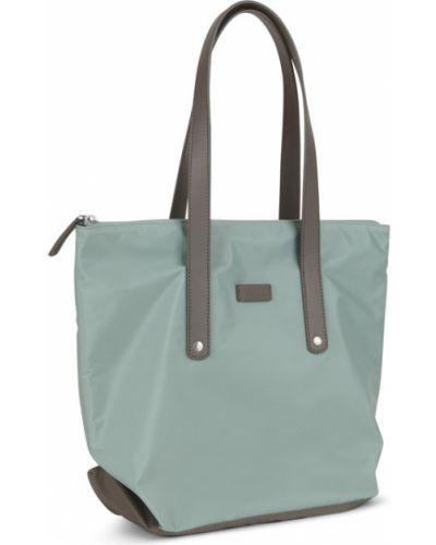 Кожаная сумка шоппер оранжевый Ecco