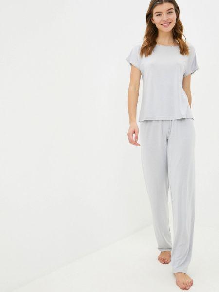Серая пижамная пижама Luisa Moretti