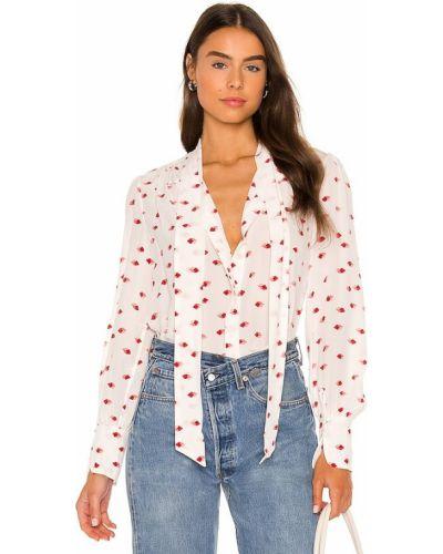 Шелковая блузка - белая Equipment