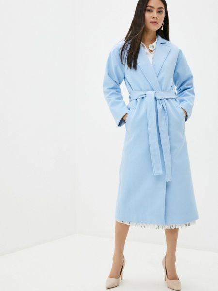 Пальто - голубое Toryz