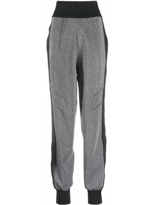 Нейлоновые черные спортивные брюки с карманами с высокой посадкой No Ka 'oi