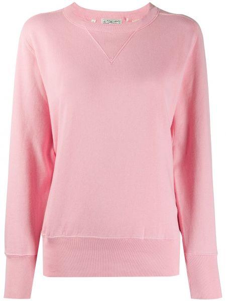 Текстильный розовый топ в рубчик винтажный Levi's Vintage Clothing