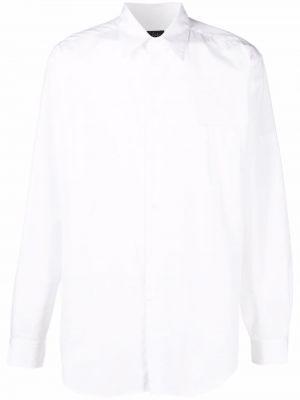 Biała klasyczna koszula Yohji Yamamoto