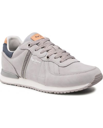 Sneakersy - szare Pepe Jeans