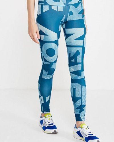 Синие леггинсы Adidas