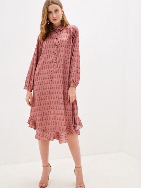 Платье платье-рубашка розовое Imperial