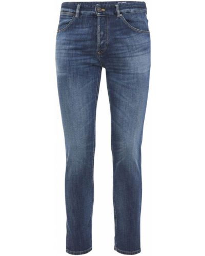 Niebieskie jeansy bawełniane Pantaloni Torino