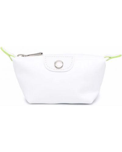 Белая барсетка Longchamp