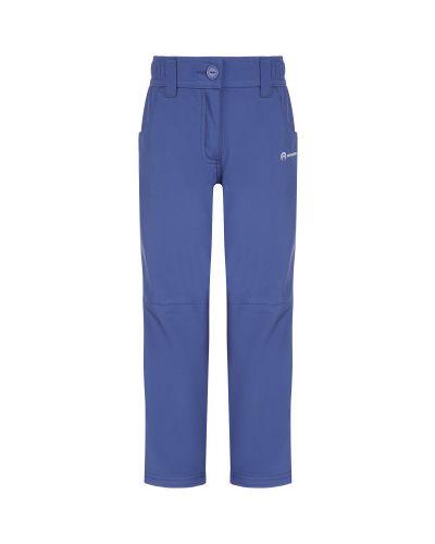Прямые синие брюки софтшелл Outventure