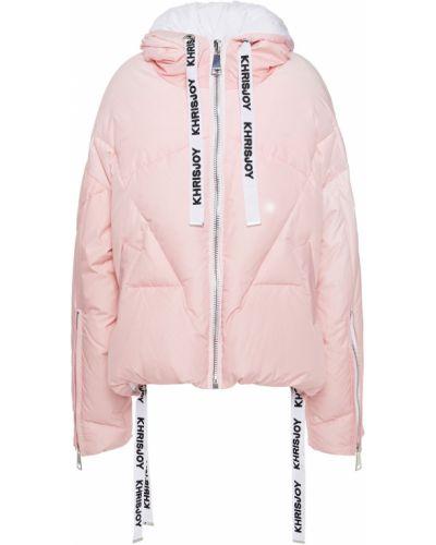 Стеганая куртка - розовая Khrisjoy