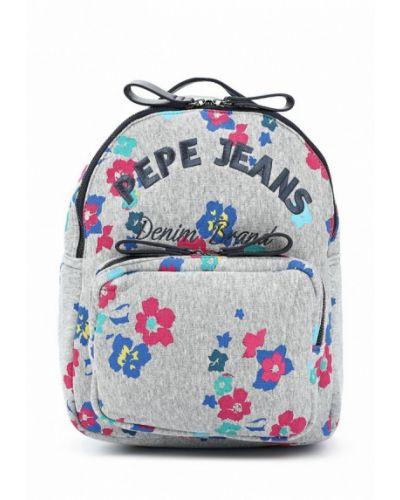 Рюкзак серый Pepe Jeans