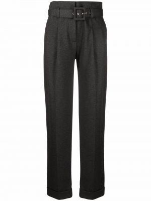 Серые брюки из спандекса Victoria, Victoria Beckham