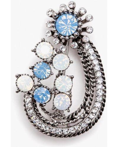 Брошь серебряный Patricia Bruni