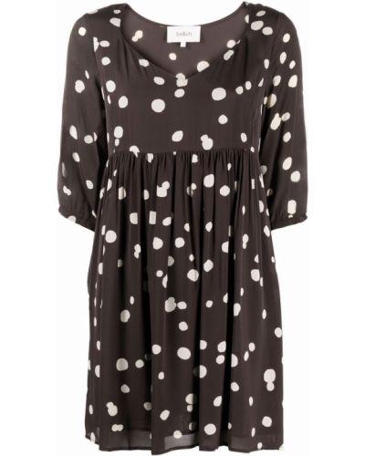 Платье мини короткое - серое Ba&sh