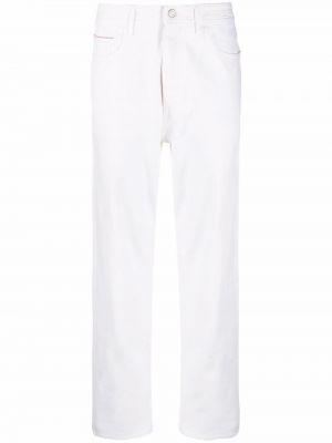 Прямые джинсы классические - белые Jacob Cohen