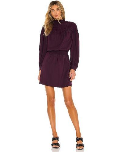 Платье из крепа - фиолетовое 1. State
