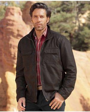 Джинсовая куртка замшевая легкая Atlas For Men