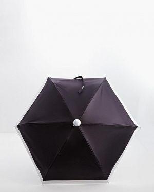 Зонт черный складной Karl Lagerfeld