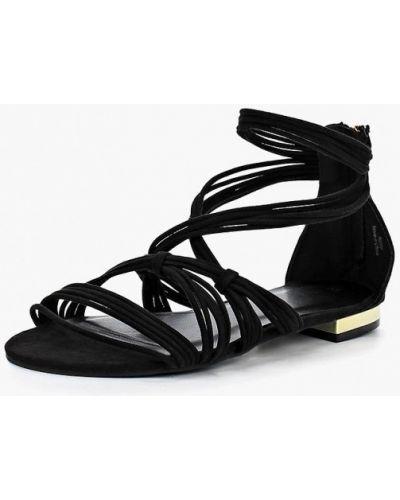 Черные сандалии Piazza Italia